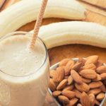 Paleo smoothie with banana